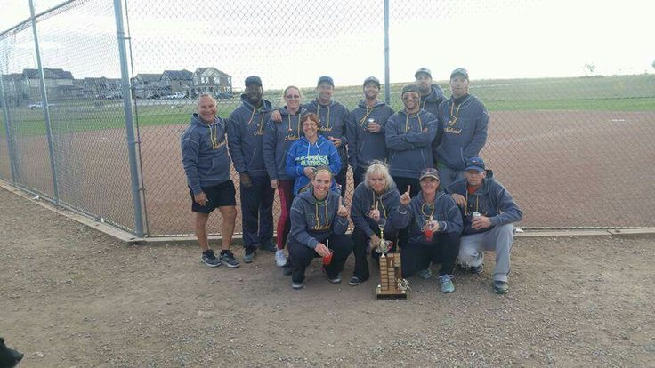 20th Annual Ron Maclean slopitch tournament B Champs 2016.