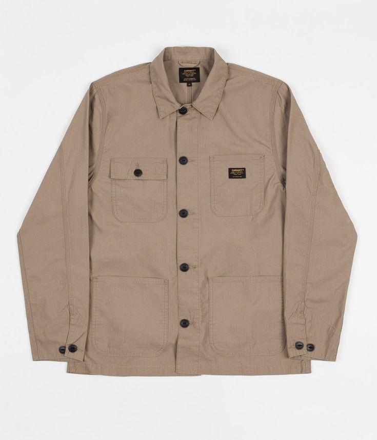 Carhartt Michigan Shirt Jacket - Leather