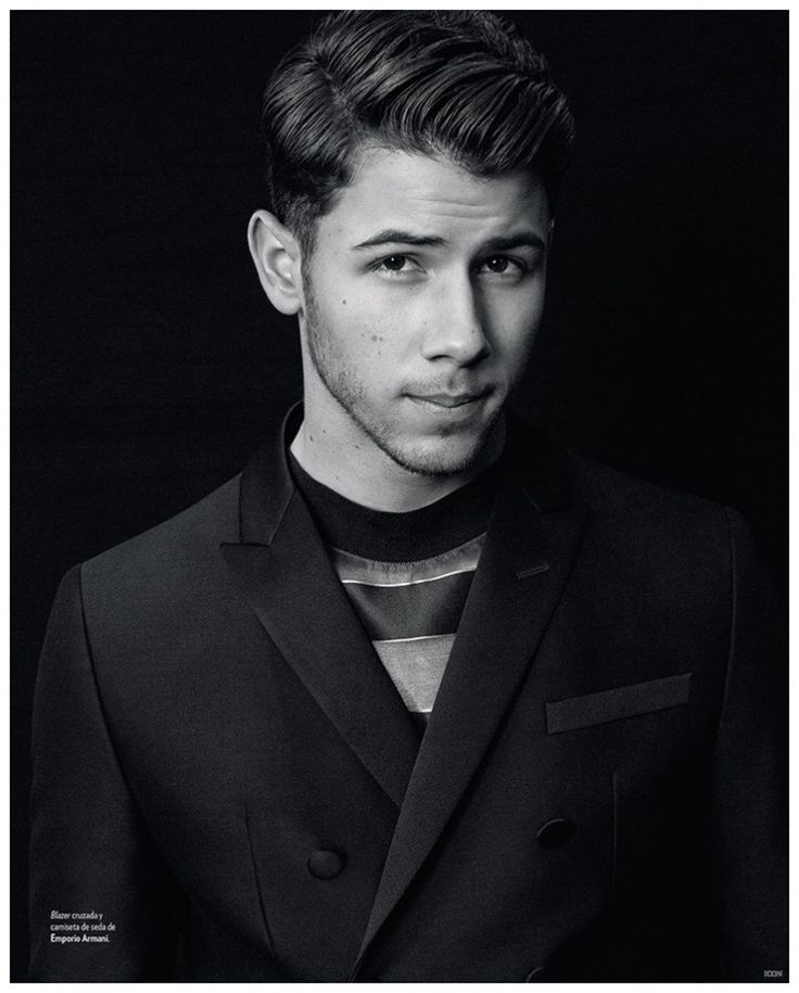 Nick Jonas Sports Casual + Tailored Styles for Icon Photo Shoot
