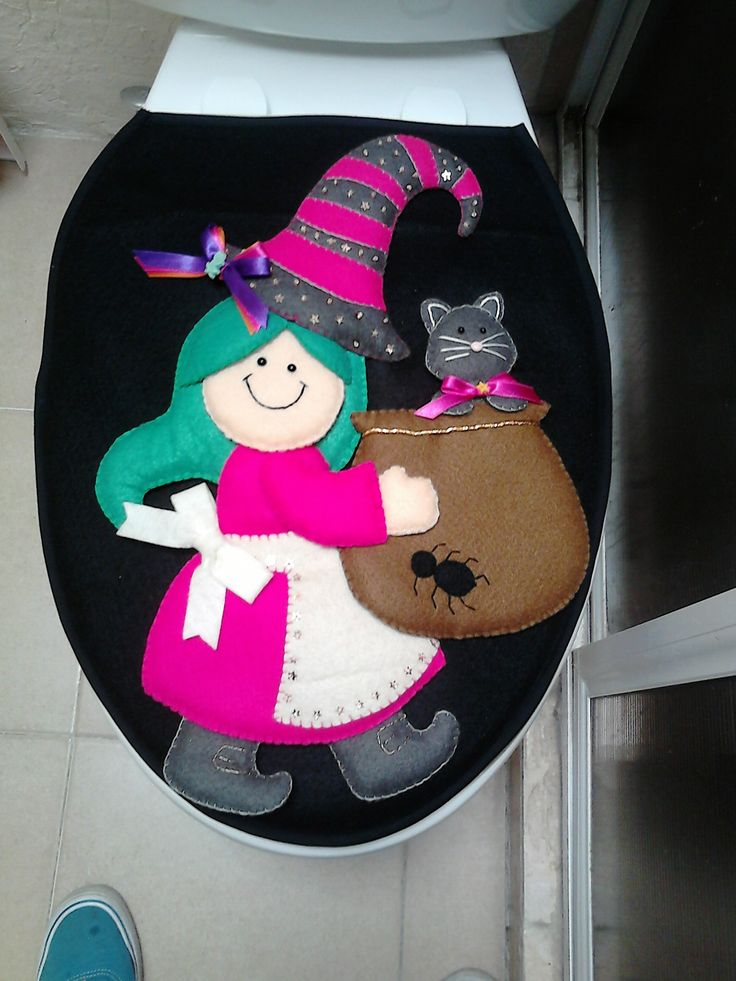 24 best images about halloween on Pinterest - halloween bathroom sets