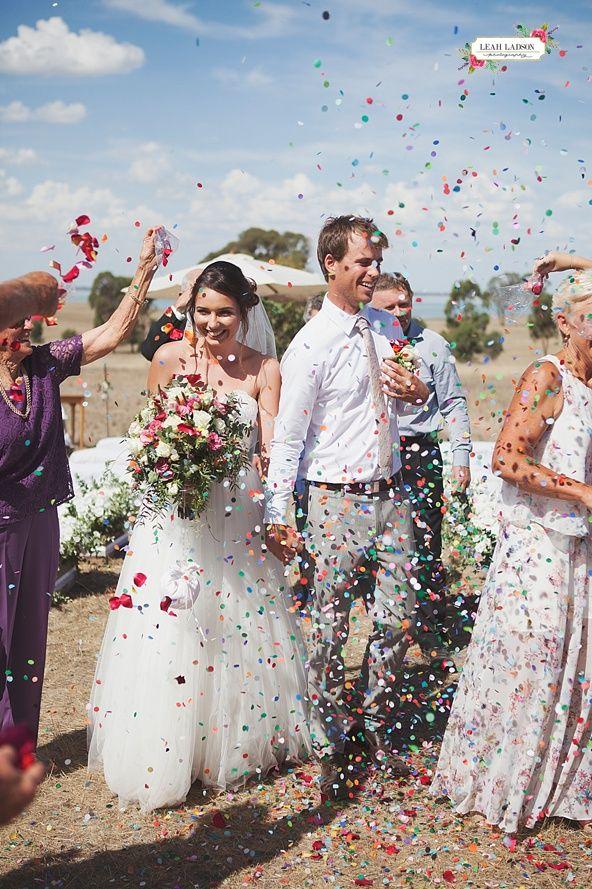 Beautiful Farm Wedding, Country Victoria wedding held in Rushworth.   #countrywedding #farmwedding #weddingphotos #weddingflowers #weddingispiration #confetti  See more at www.leahladson.com