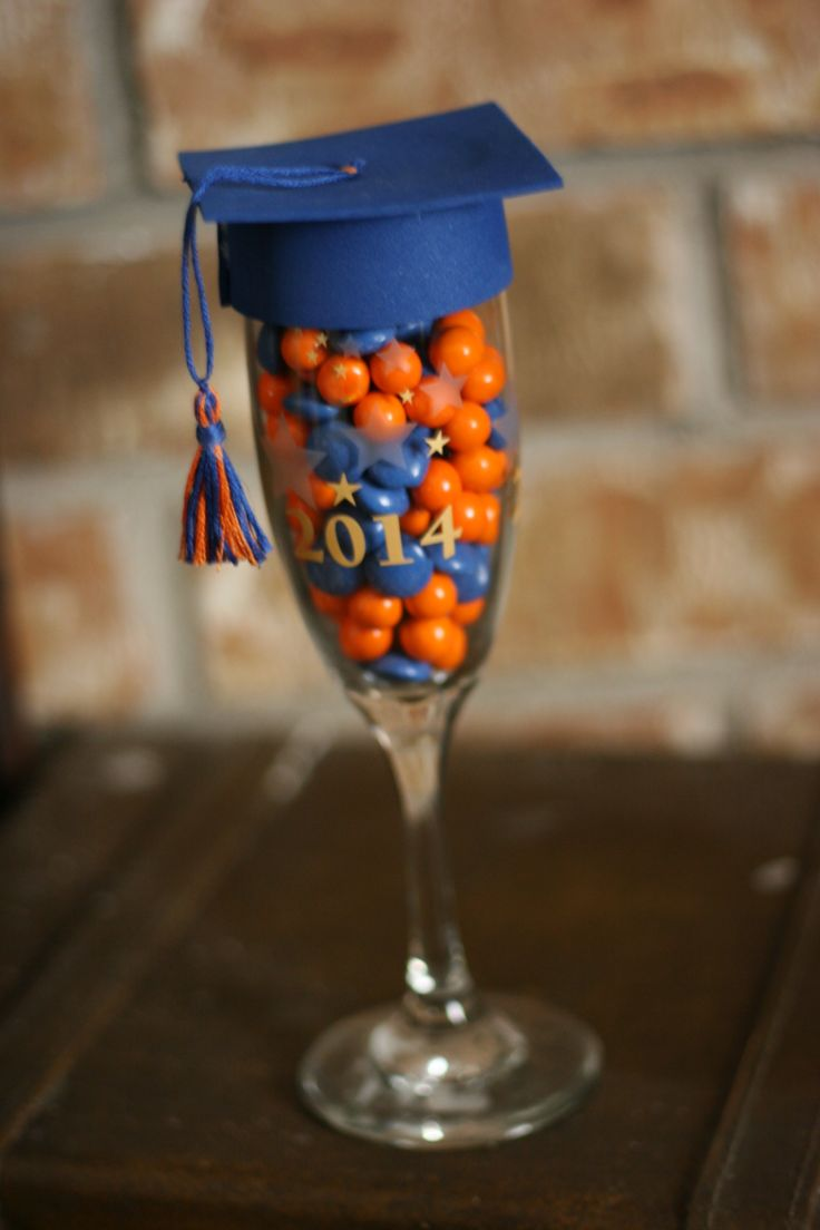 This is what I'm making for my son's graduation party favors