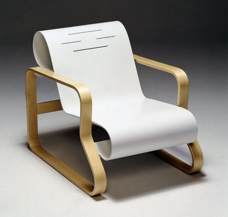 Wonderful Paimio Chair, 1933, Alvar Aalto, Bent Laminated Birch Veneer Plywood Great Ideas