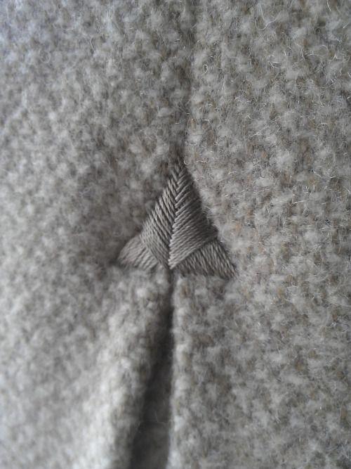 "... #firenli kerloaz: "" French philosophy of the detail - Bespoke polo coat. """