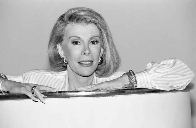 Joan Rivers Should've Always Punched Up