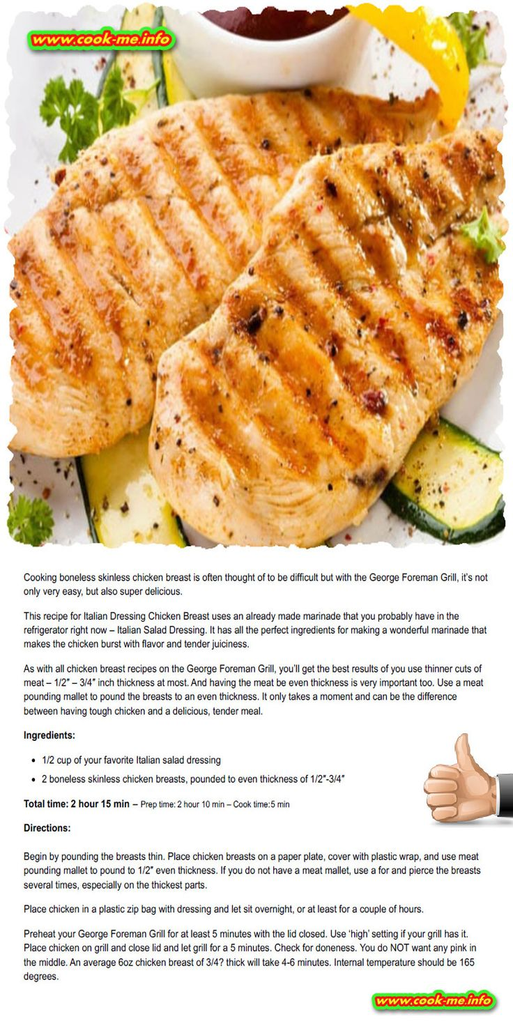 Easy Italian Dressing Grilled Chicken Recipe