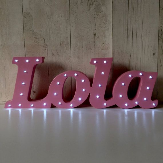Industrial Style Light Up Letters: Best 25+ Light Up Letters Ideas On Pinterest
