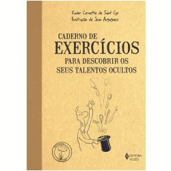 caderno de exercícios para descobrir os seus talentos ocultos -- altamente recomendado pra quem quer se investigar, desenvolver voz autêntica, comunicar com consistência <3