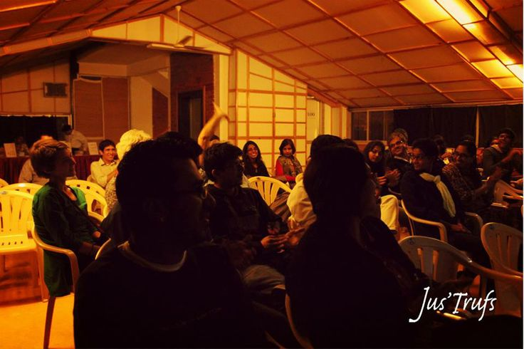 The audience enjoying a brilliant show!   07/12/2013