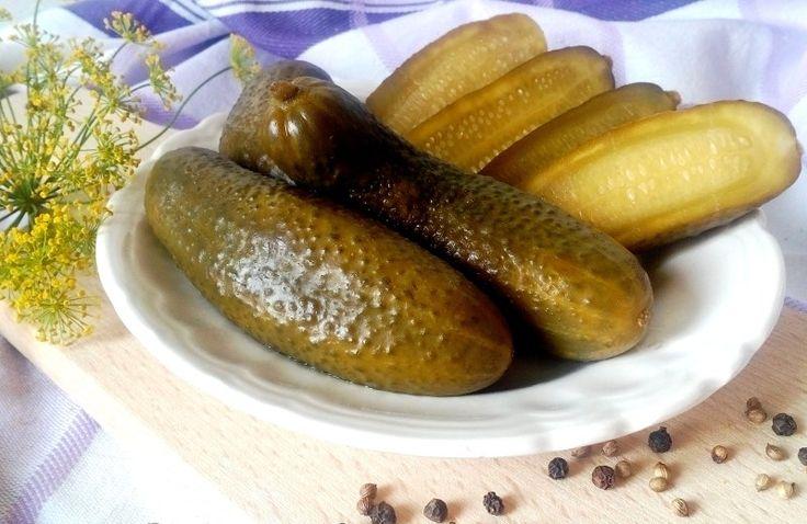 Csemege uborka recept cukor és tartósítószer nélkül