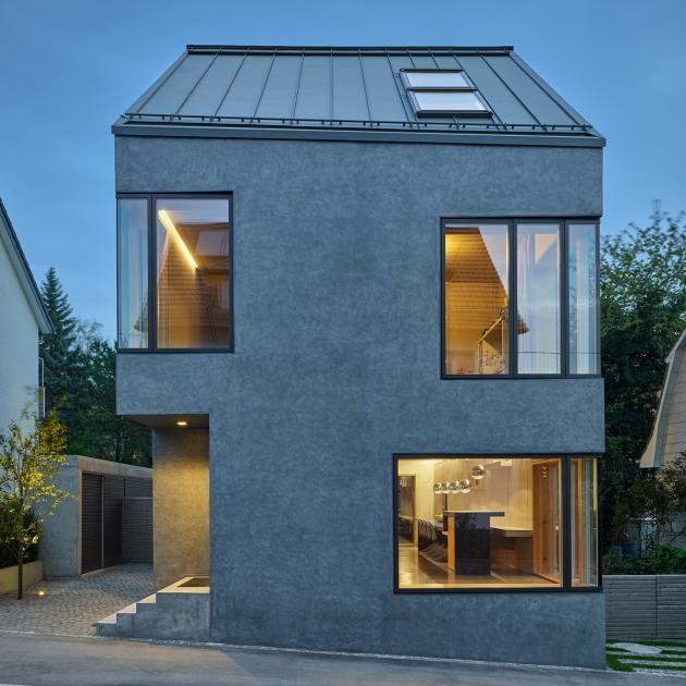 Wohnhaus F9 In Stuttgart Bild 9 Mit Bildern Architektur Haus Wohnhaus Haus
