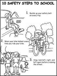 bicycle safety worksheets - Google Search | Free kids ...