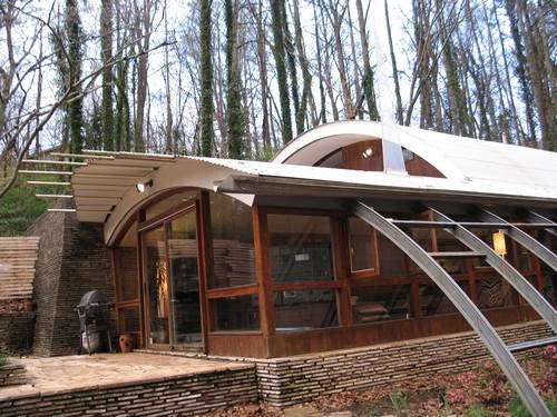1000 images about quonset on pinterest cabin kits for Small hut plans