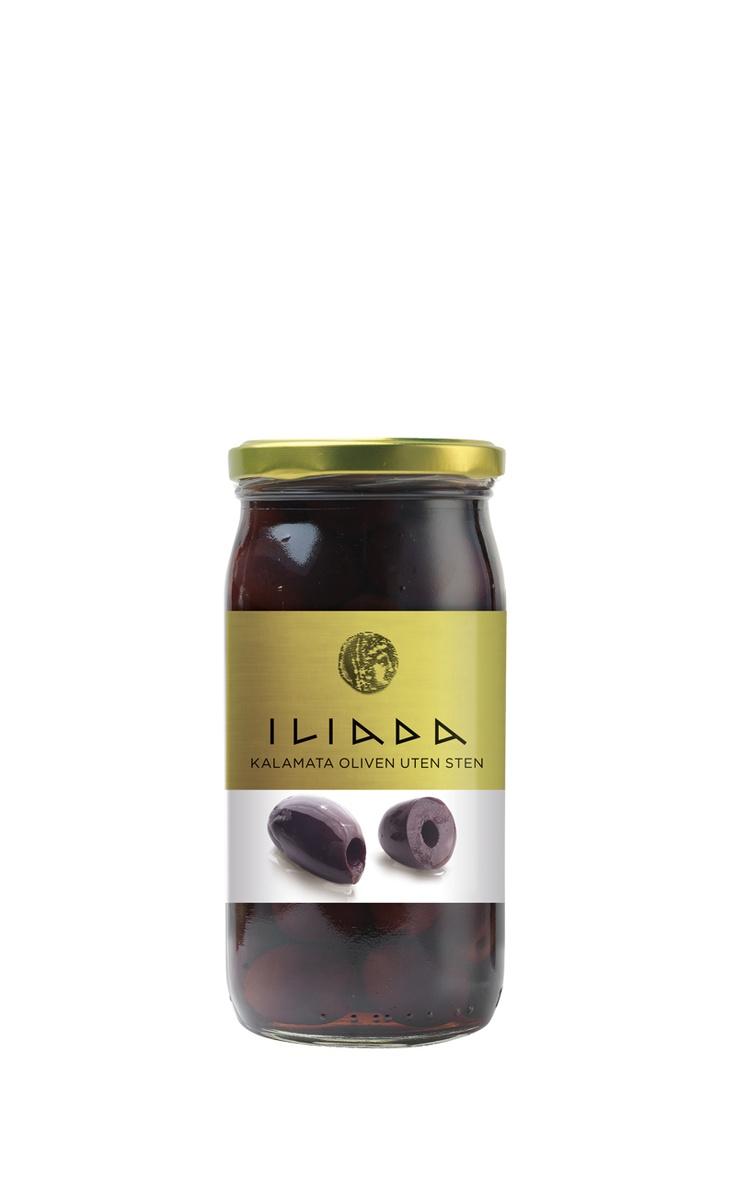 ILIADA Kalamata Olives Pitted - 370g