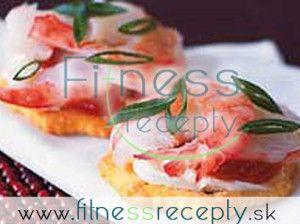 Zdravé fitness recepty - Krevetová nátierka