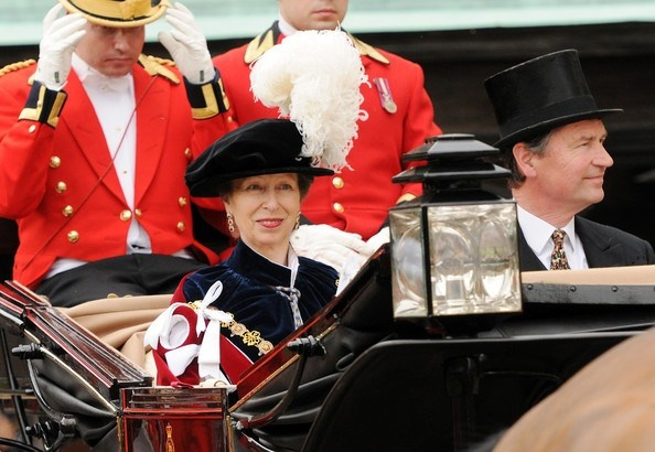Princess Anne and Vice Admiral Timothy Laurence, June 17, 2013 | The Royal Hats Blog
