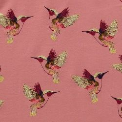 Isoli m stretch støvet rosa m kolibri
