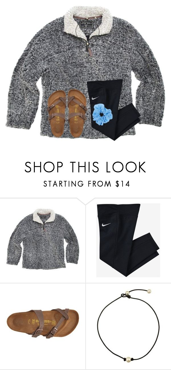 """i do not like who won the sec championship. should of been auburn"" by ponyboysgirlfriend ❤ liked on Polyvore featuring True Grit, NIKE and Birkenstock"