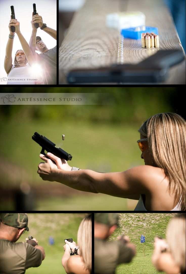 For a couple who love guns!