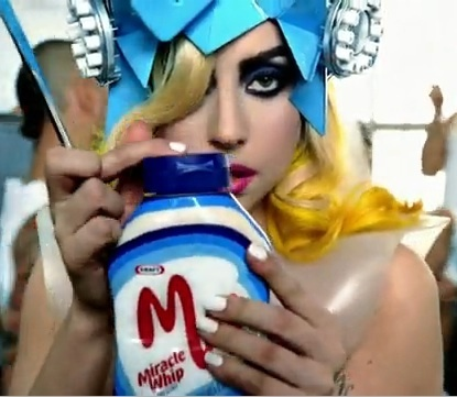 #product #placement #lady #gaga #clip #music