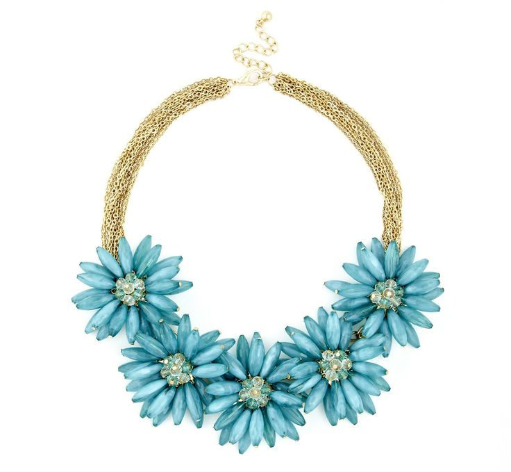 Sole Society New Arrivals - OVERSIZED FLORAL NECKLACE