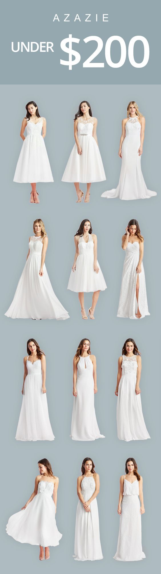 relaxed wedding dress wedding dress under $ Looking for a relaxed wedding gown under Check out these bridal gowns and wedding