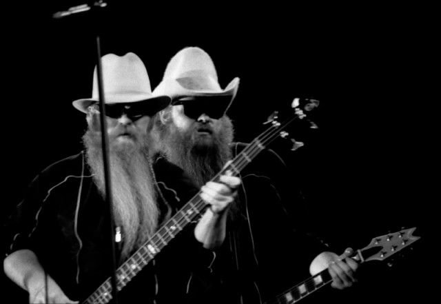 There are no harder working beards in the music industry than the beards on ZZ Top's Billy Gibbons' and Dusty Hills' faces. Ironically, the band's beardless drummer is named Frank Beard