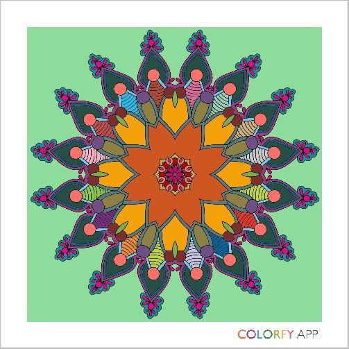 #colorfy #mandella