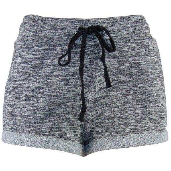 BriBrisFashion Side Pocket Drawstring Shorts found on Polyvore featuring shorts, bottoms, pants, short, drawstring shorts и short shorts