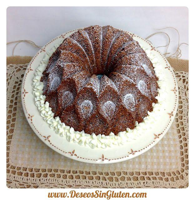 Deseos Sin Gluten: BUNDT CAKE DE CASTAÑAS Y AVELLANAS SIN GLUTEN