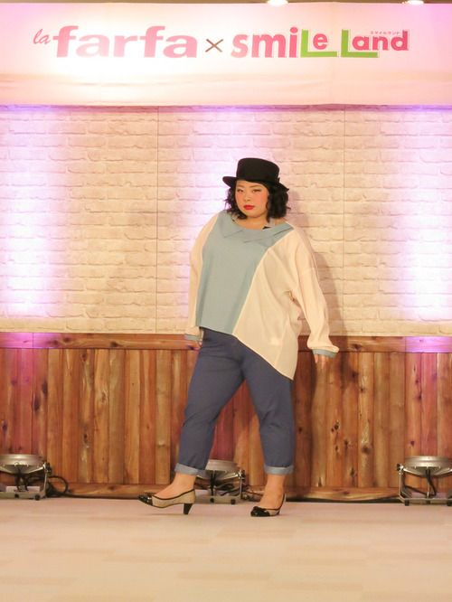 【画像 2/41】ぽっちゃりファッション誌「ラ・ファーファ」渡辺直美と読者モデルがショー開催