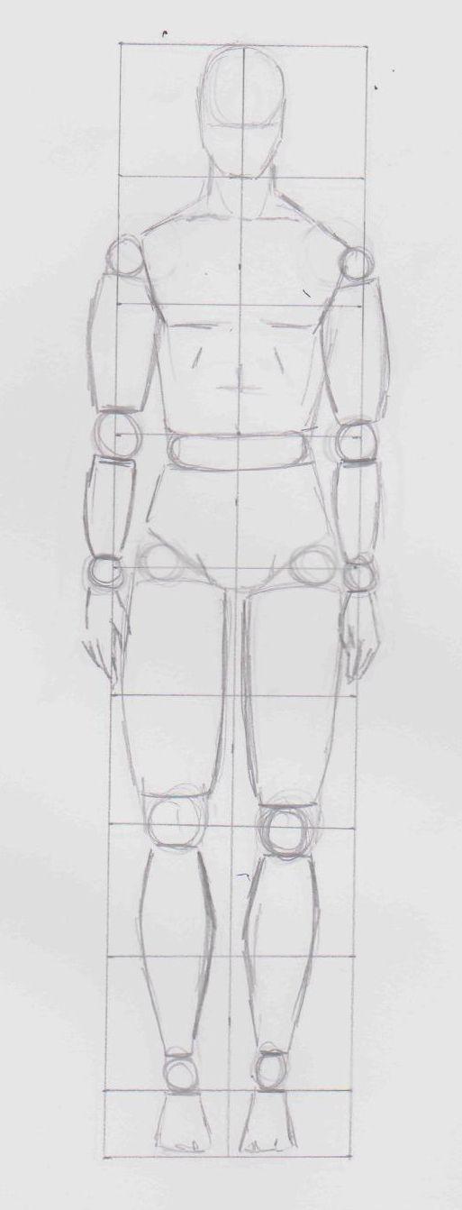 grille #mannequin homme - labo-d.com - ©Doc.D
