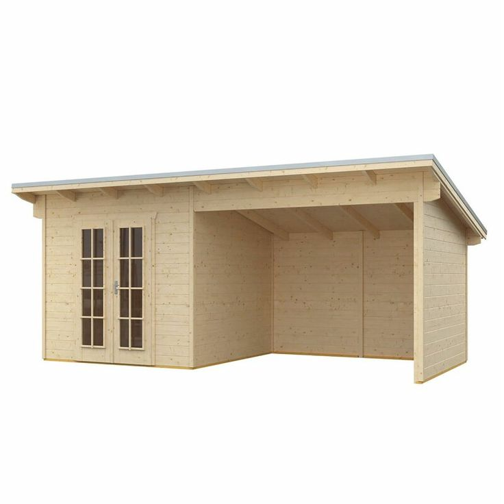 Monreal 19 X 10 Ft Tongue And Groove Summer House In 2020 Garden Oasis House Modern