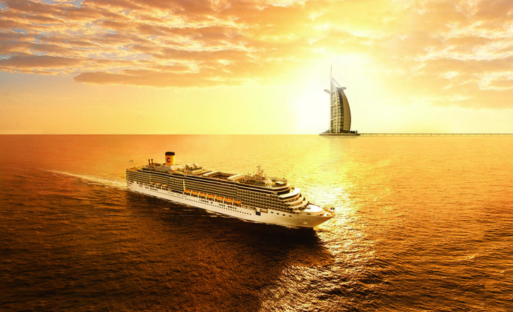 #Costa Dubai