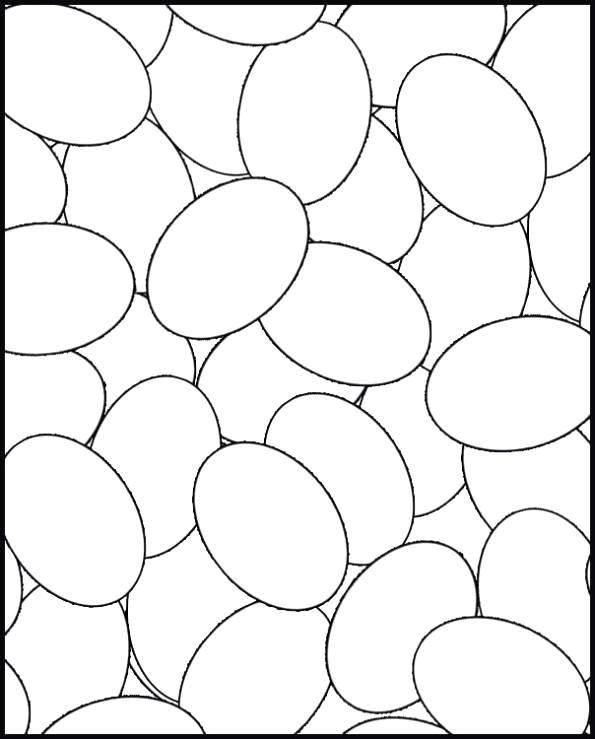 Blank eggs to have students fill in with different designs!