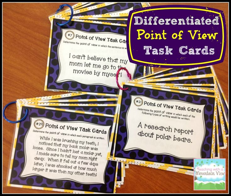 Teaching Point of View