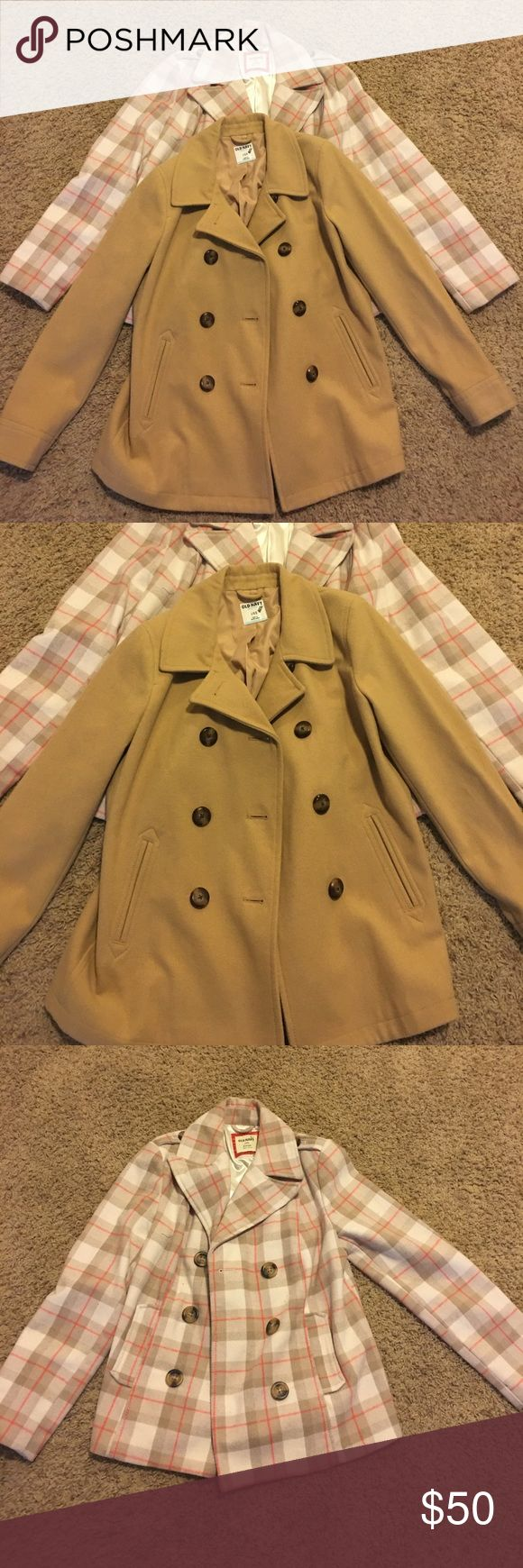 Old Navy Pea Coat Bundle😍 Two Old Navy Pea Coats for $50. Old Navy Jackets & Coats Pea Coats