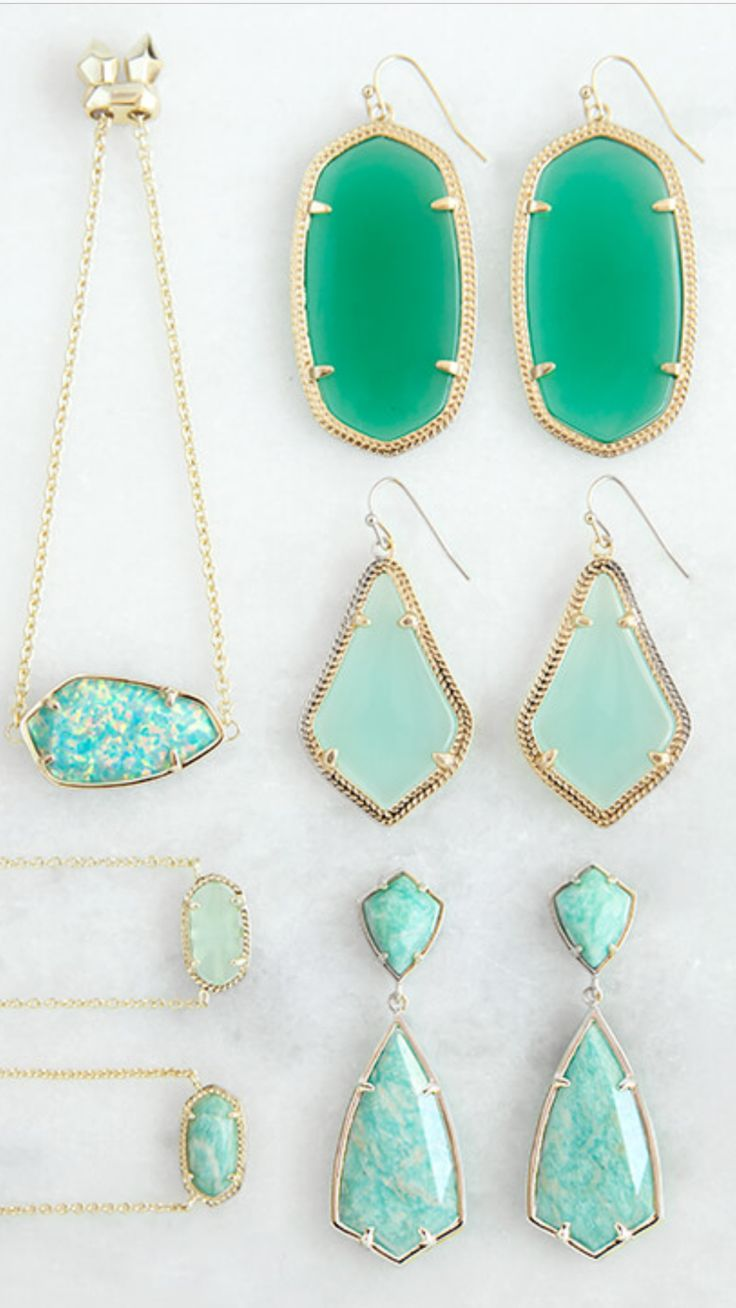 I live in Austin so I have a TON of Kendra Scott jewelry in a variety of shapes and colors.
