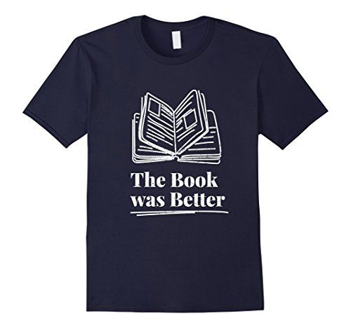 Mens The book was better, Best gift tshirt for book lover...