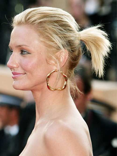 short ponytail hairstyles