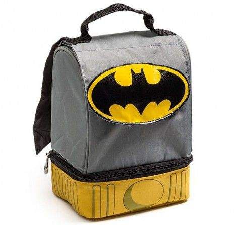 batman caped lunchbox