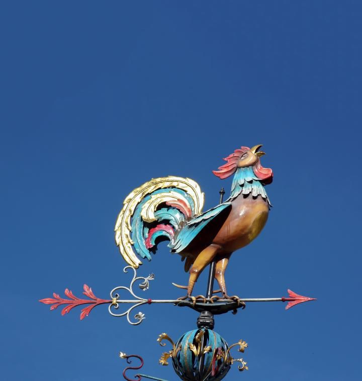 weathervane-weathercock-cockcrows