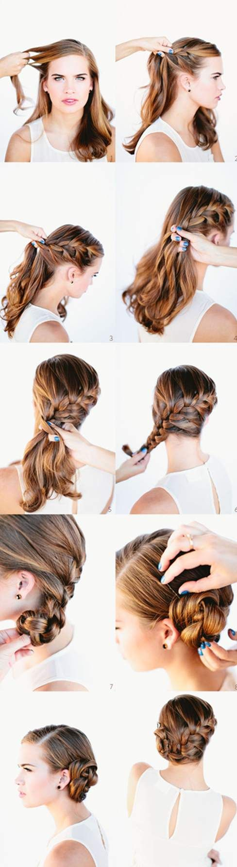 413 best medium hair images on Pinterest | Hair cuts, Hair styles ...
