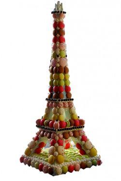 Decoration Fete Tour Eiffel M En Carton