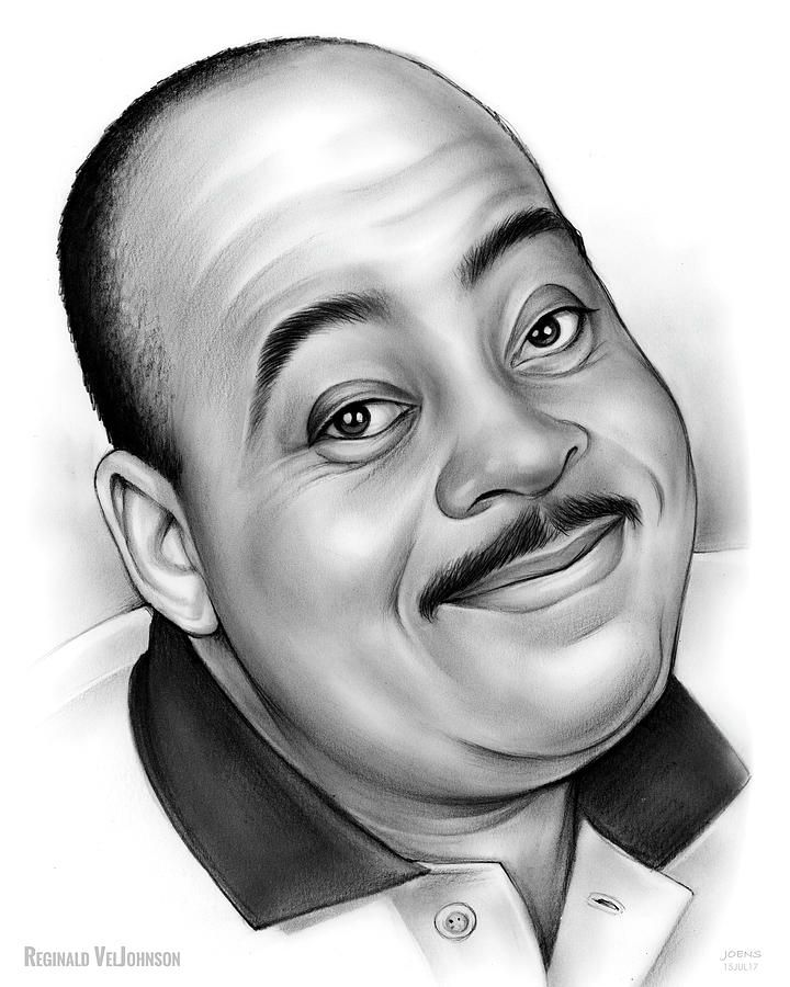 Reginald Veljohnson (aka Carl Winslow on Family Matters) by Greg Joens