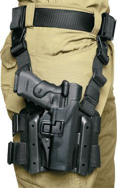 Blackhawk SERPA Level 2 Tactical Holster - Thigh Rig - OPSGEAR - 1