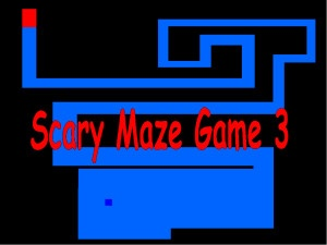 Play #Scary Maze Game 3 - This version of the game is considered as a scariest one. #Game structure doesn't change a lot. Still you move BLUE SQUARE with your mouse and the edges become narrow level after level. Scary Maze Game 3 surprise you by the #Creatures face. When it appears, you will notice that the face is out of shape and broken. #Challenge your friends, you can also make a funny video and put it on the youtube.