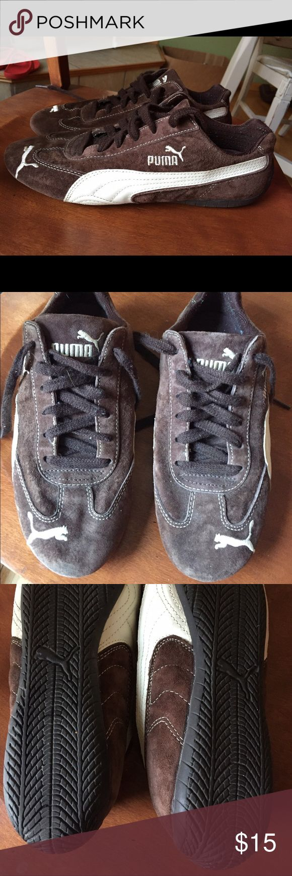 715 best puma womens shoes images on pinterest pumas shoes puma womens shoes puma brown suede tennis shoe puma brown suede tennis shoe size women size only worn a few times no wear and tear on outside nvjuhfo Choice Image