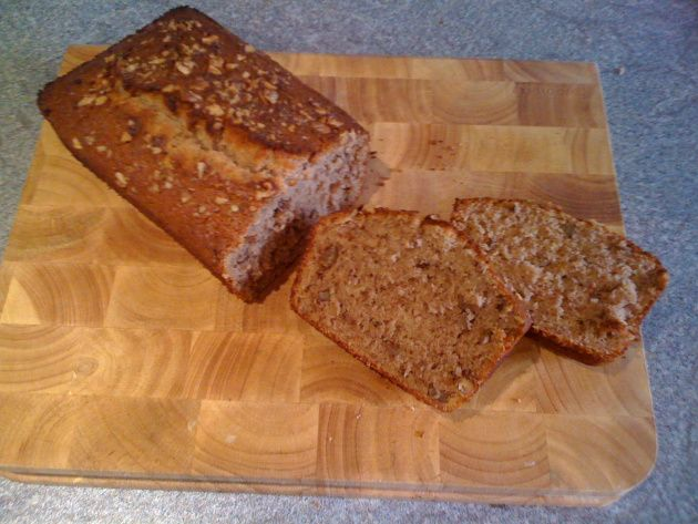 Harry Eastwood's Cinnamon Banana Bread. - Rice Flour, no oil :)