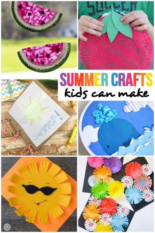 Summer Crafts Kids Can Make
